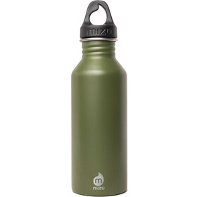 MIZU M5 Bottle with Black Loop Cap 500ml, enduro army